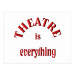 Theatre is Everything Postcard