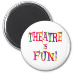 Theatre is Fun Fridge Magnets
