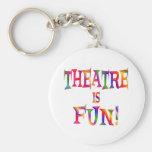 Theatre is Fun Keychains