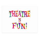 Theatre is Fun Post Card