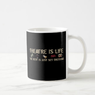 Theatre is Life Coffee Mug