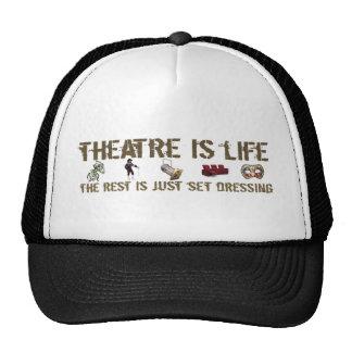 Theatre is Life Trucker Hat