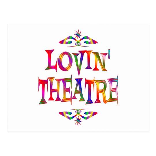 Theatre Lover Postcard
