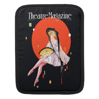 Theatre Magazine Cover 1921 Vintage iPad Sleeves