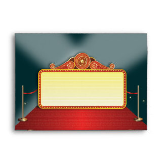 Theatre Marquee Event Envelope