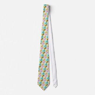 Theatre Mask Pop Art Neck Tie