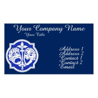 Theatre Masks 2 Business Card