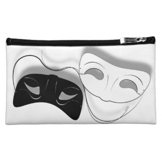 Theatre Masks Cosmetic Bag