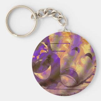 Theatre Masks Keychain