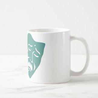 Theatre masks coffee mug