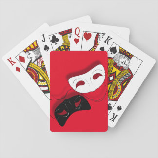 Theatre Masks Playing Cards