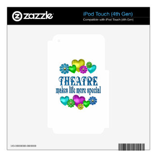 Theatre More Special Skins For iPod Touch 4G