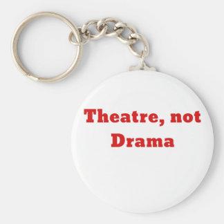 Theatre Not Drama Keychain