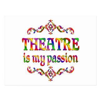 Theatre Passion Postcard