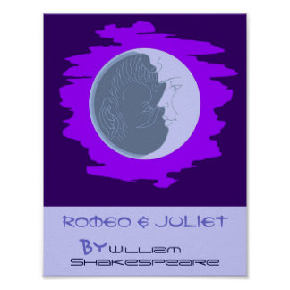 Theatre Play Poster Romeo and Juliet Shakespeare