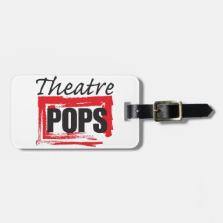 Theatre Pops goodies Luggage Tag