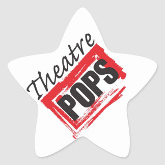 Theatre Pops goodies Star Sticker