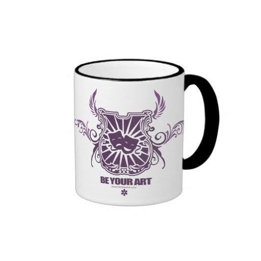 Theatre Purple Mug