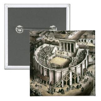Theatre reconstruction, Roman 2nd century Button