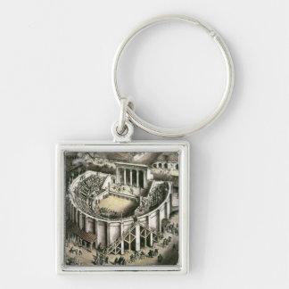 Theatre reconstruction Roman 2nd century Key Chains