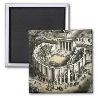 Theatre reconstruction, Roman 2nd century Magnet