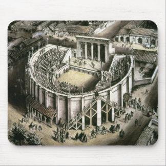 Theatre reconstruction Roman 2nd century Mousepads