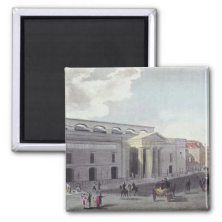 Theatre royal, Covent Garden, 1809 2 Inch Square Magnet