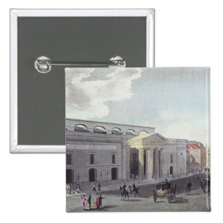 Theatre royal Covent Garden 1809 Pinback Button