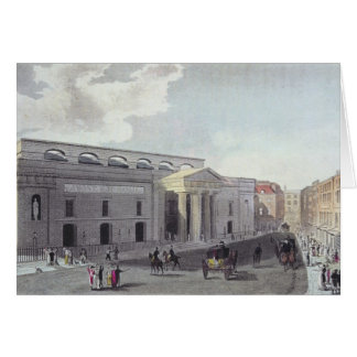 Theatre royal, Covent Garden, 1809 Card