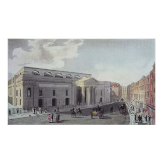 Theatre royal, Covent Garden, 1809 Poster