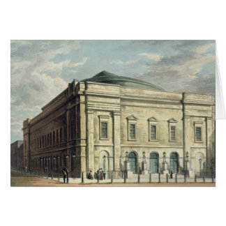 Theatre Royal, Drury Lane, in London, designed by Card