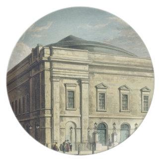 Theatre Royal, Drury Lane, in London, designed by Melamine Plate