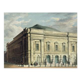 Theatre Royal, Drury Lane, in London, designed by Postcard