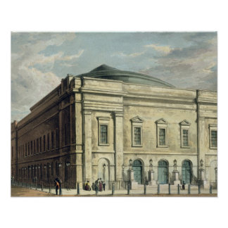 Theatre Royal Drury Lane in London designed by Poster