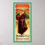 Theatre Sarah Bernhardt ~ Hamlet ~ Alphonse Mucha Poster