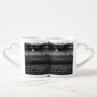 Theatre Seats Black White Coffee Mug Set