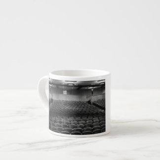 Theatre Seats Black White Espresso Cup