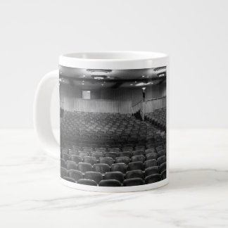 Theatre Seats Black White Giant Coffee Mug