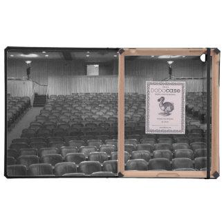 Theatre Seats Black White iPad Case