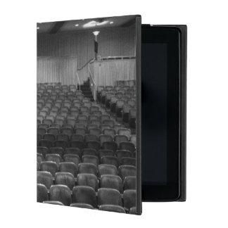 Theatre Seats Black White iPad Folio Cases