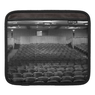 Theatre Seats Black White Sleeve For iPads