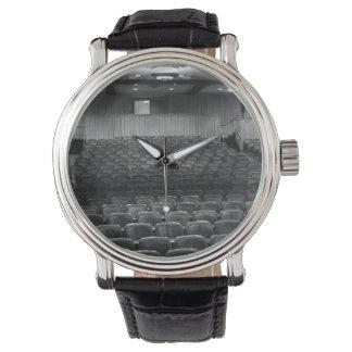 Theatre Seats Black White Wristwatches