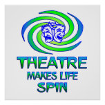 Theatre Spins Print