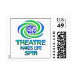Theatre Spins Stamp