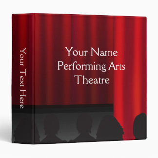 Theatre Stage Curtain Performance Custom Binder
