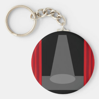Theatre Stage Key Chain