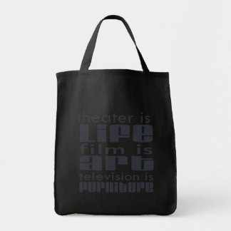 Theatre vs Film vs TV Tote Bags