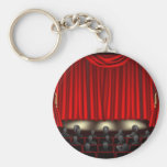 Theatre with audience keychains
