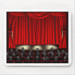 Theatre with audience mousemat