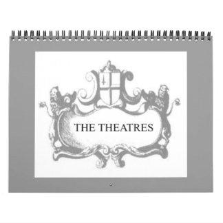 Theatres2 Wall Calendars